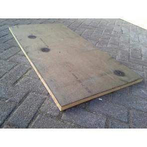 Gebruikt isolatie 120x60x5 cm.